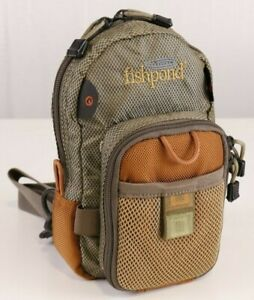 Fishpond San Juan Vertical Chest Pack - Sand/Saddle Brown - FREE SHIPPING!