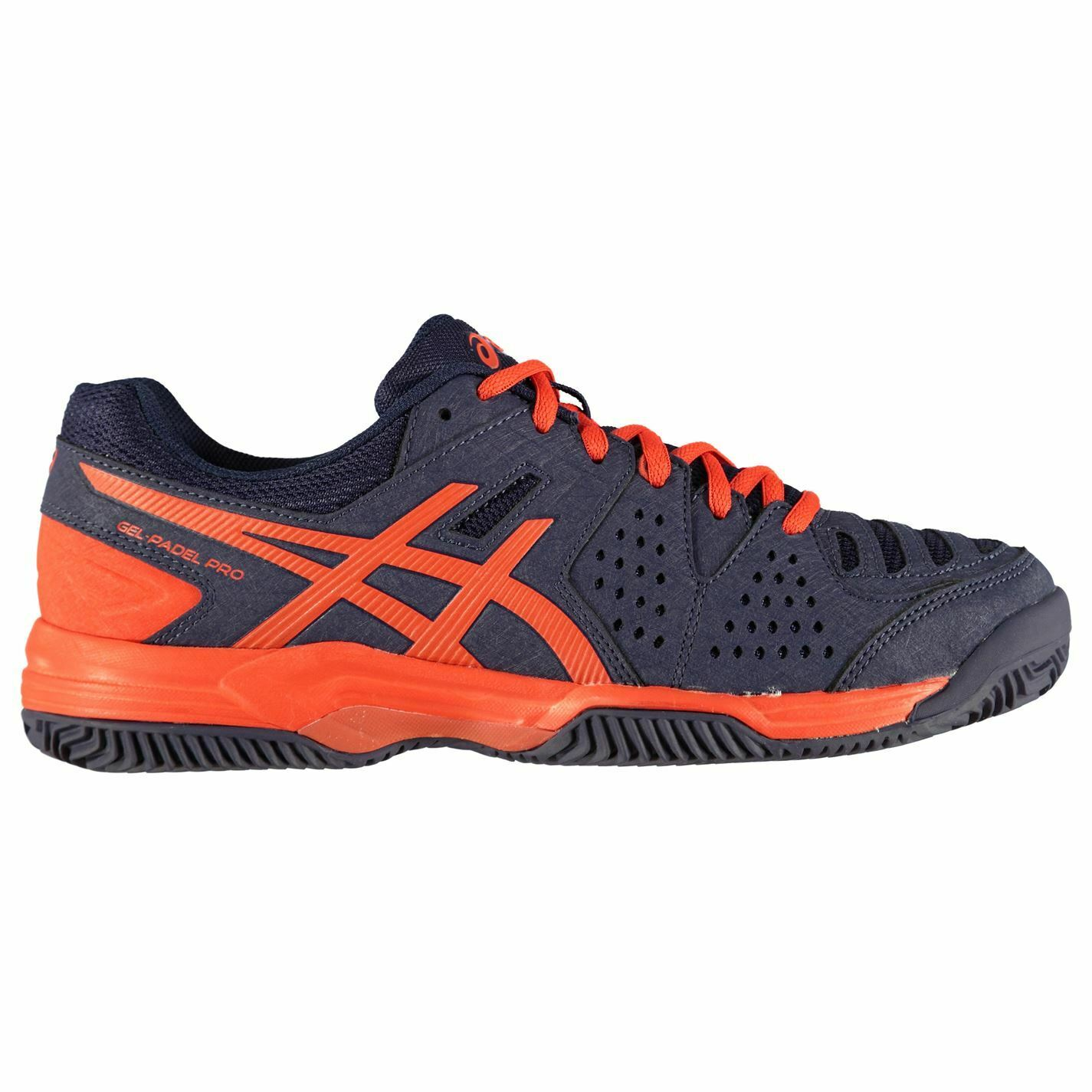 Asics Womens Gel Padel Pro 3 SG Tennis shoes Lace Up Padded Ankle Collar Mesh