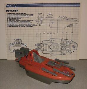 Gi Jow Devilfish 1986 Missile vehicle part