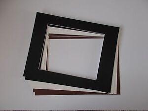 6-x-Professional-Picture-Framing-Mat-Boards-11-034-x14-034-with-8-034-x10-034-Photo