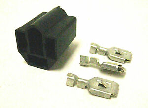 Delphi 59 Series Headlight Socket Kit with Terminals 16-14 AWG Made In USA