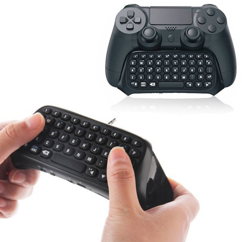 GamePad Bluetooth Wireless Keyboard Chatpad Controller for Playstation 4 PS4 UK