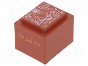 Transformador-Revestido-2VA-230VAC-6V-6V-167mA-167mA-44127-Pcb-Transformatoren