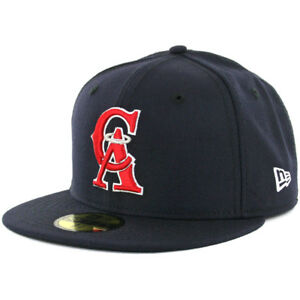 New-Era-5950-Los-Angeles-Angels-CO-034-CA-034-Fitted-Hat-Navy-White-Red-Men-039-s-Cap