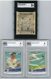 1948-Swell-BABE-RUTH-SGC-3-1934-GOUDEY-LOU-GEHRIG-SAYS-Lot-of-2-BVG-4