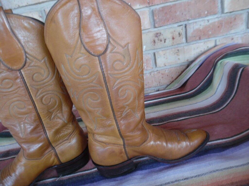 Women's John Wesley Hardin Western Cowboy Boots 8 8 8 B (h536) c89927