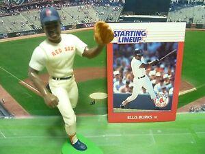 1988  ELLIS BURKS - Starting Lineup - SLU - Loose With Card - Boston Red Sox