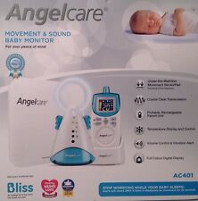 Angelcare AC401 Sound & Movement Baby Monitor (Brand New) RRP £99