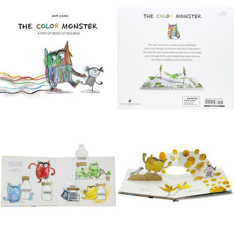 The Color Monster A Pop Up Book Of Feelings By Anna Llenas 2015 Picture Book For Sale Online Ebay