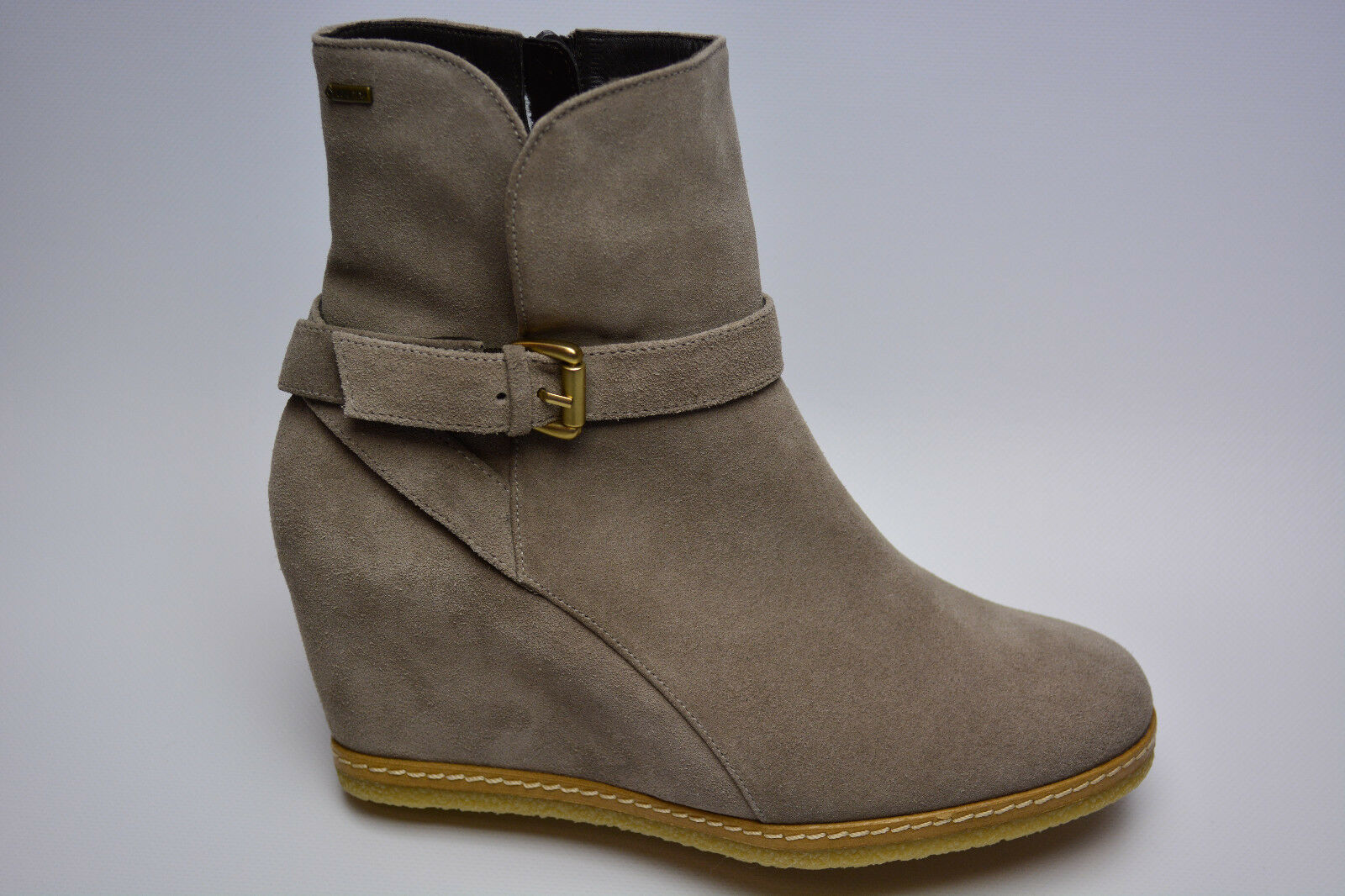 Högl Schuhe Damen Stiefeletten Echtleder Gore Tex Keilabsatz