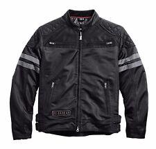 Harley Davidson Mens Willie G Excam Warrior Skull Motorcycle Mesh Jacket 2XL XXL