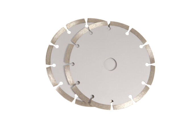 FERM WSA1001 Sägeblätterset 125mm 2 St. Diamant für WSM1009