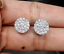 Deal-1-05-CT-Natural-Diamond-Cluster-Halo-Stud-Earrings-14K-White-Gold-9-5-MM thumbnail 5