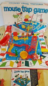 Vintage-Mouse-Trap-Board-Game-Original-1963-Design-By-Ideal
