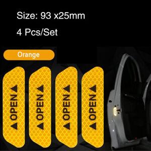 Orange-Car-Auto-Door-Open-Sticker-Reflective-Tape-Safety-Warning-Decal