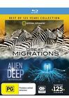 National Geographic - Best Of 125 Years - Great Migrations / Alien Deep With Bob Ballard (Blu-ray, 2013, 4-Disc Set)