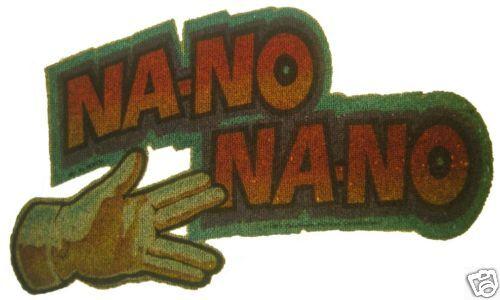 VINTAGE 70/'s NA-NO NA-NO IRON ON T-SHIRT TRANSFER