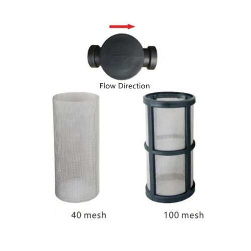 """Details about  /1//2/"""" Female NPT in-Line Strainer with 40 mesh Stainless Steel Filter Screen ..."""