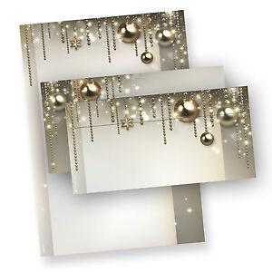 Briefpapier-Weihnachten-NOBLESSE-Weihnachtsbriefpapier-mit-ohne-Briefumschlaege
