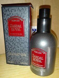 PERLIER SANDAL ROYAL Eau de cologne 100 ml. Splash VINTAGE (1989) - Italia - PERLIER SANDAL ROYAL Eau de cologne 100 ml. Splash VINTAGE (1989) - Italia