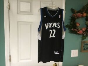 Men's Andrew Wiggins #22 Adidas Wolves Jersey Size Large (CON27 ...