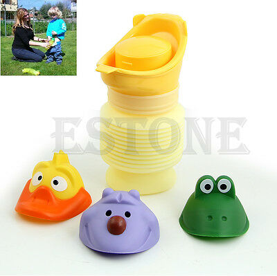 Portable Urinal Car Travel Toilet Kid Unisex Potty Training Pee Camping 400ML