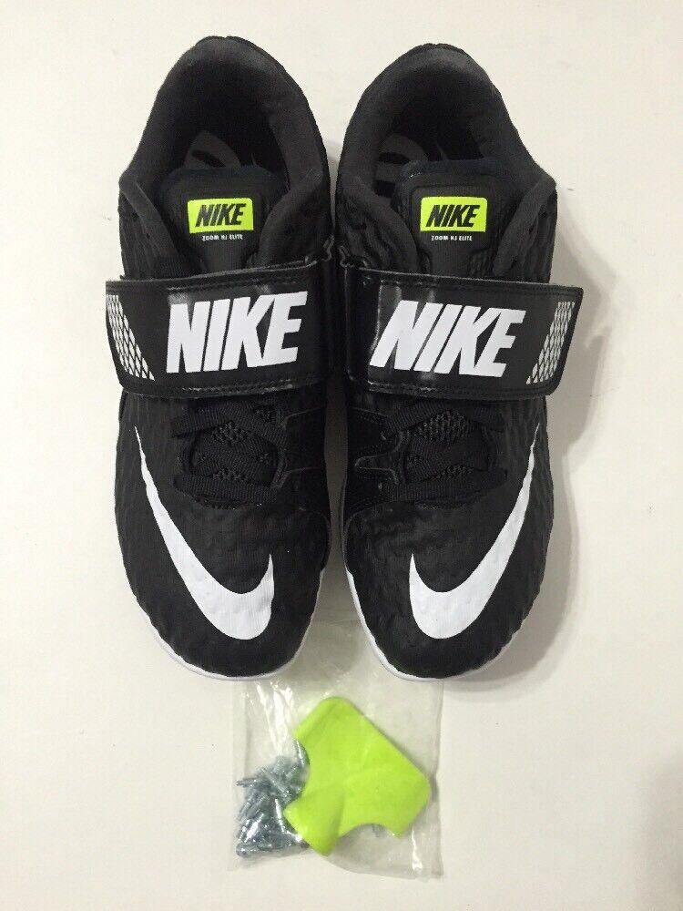 5906e9d1abf Nike Zoom HJ Elite High Jump Spikes Track Field Black Black Black  806561-017 Mens