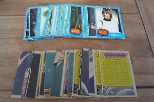 Topps Star Wars Cards 1977 - 1st Series nos 1-66 VGC! - Pick The Cards You Need!