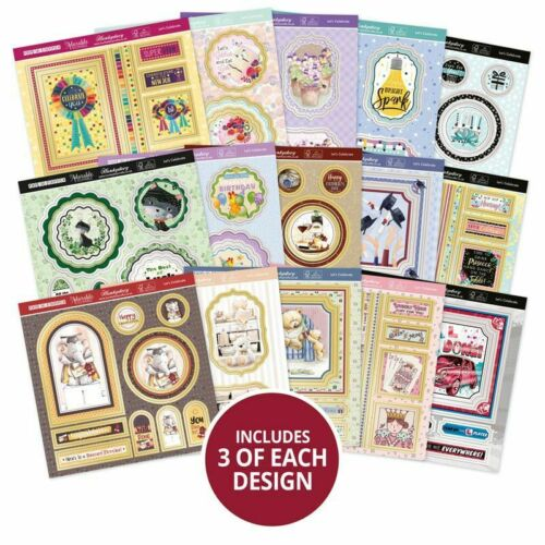 Hunkydory Pop-a-Topper Pad Let/'s Celebrate  45pg