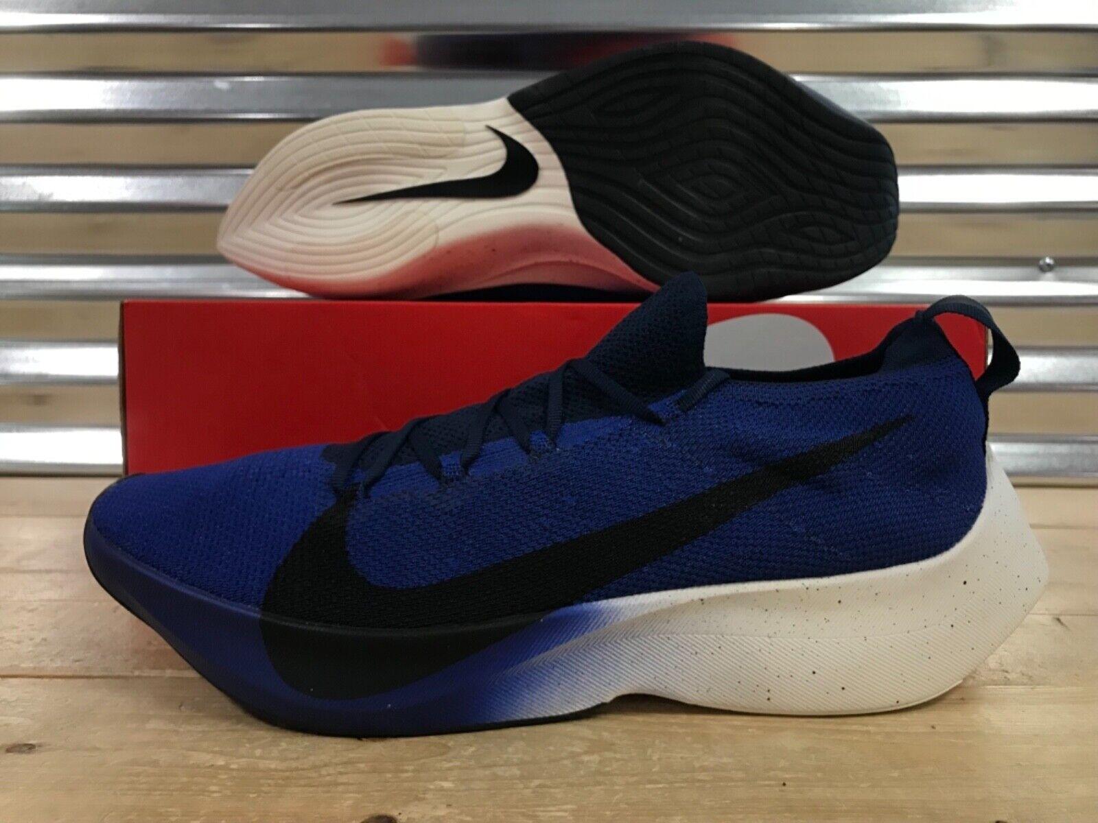 Nike Vapor Street Flyknit Running scarpe scarpe scarpe Deep Royal blu Navy SZ 14 (AQ1763-400) 1fc4bb