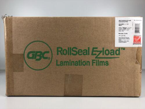 """GBC 3400923EZ Laminier Filmrollen Kern 25 mm 1/"""" 150 m matt 42,5 Folie H1-A5"""