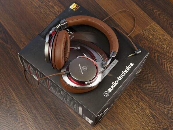 HiFi / DJ hovedtelefoner, Audio Technica, ATH-MSR7