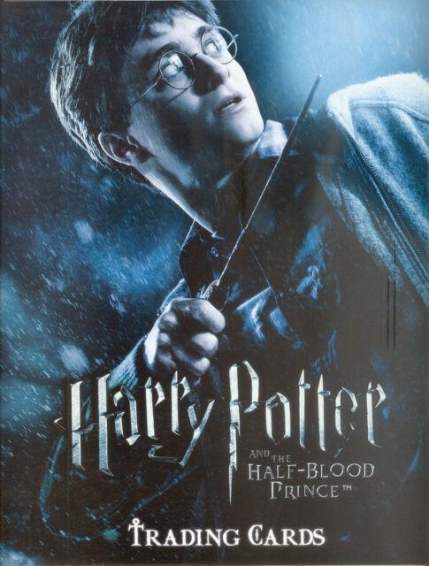 Harry Potter Half Blood Prince 2009 Artbox Album Binder Ebay