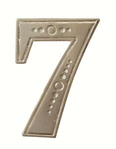 Number 7 Nickel-Plated Orange Order Collarette Character