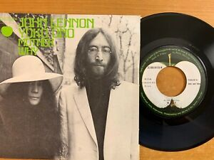 Lohn-Lennon-amp-Plastic-Ono-Band-Mother-7-034-1-French-Pressing-1970-TOP