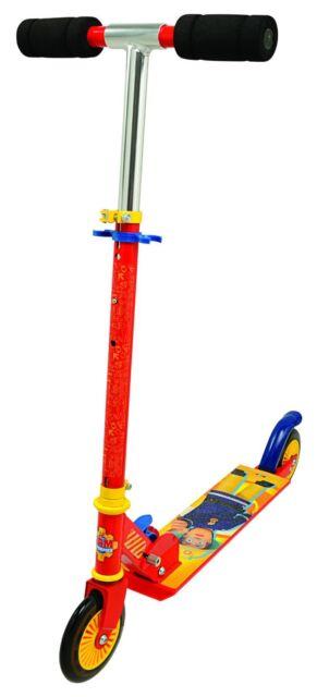 Smoby 450153 Roller  Fireman Sam Roller  Bremse klappbar Tretroller Klapproller