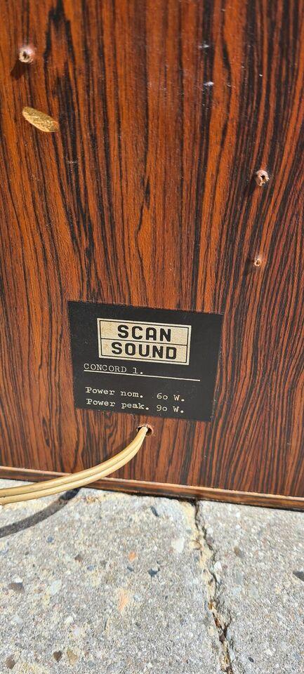 Højttaler, Scan Sound, Concord 1