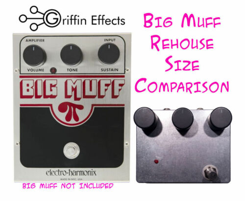 Griffin Effects Electro Harmonix NYC Big Muff Pi BMP Fuzz Rehouse Kit