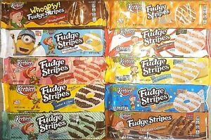 Image Is Loading Keebler Fudge Stripes Cookies Variety Limited Edition
