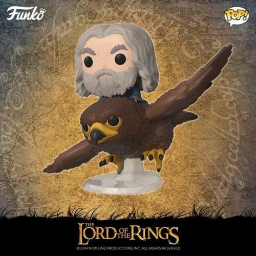 Gandalf on Gwaihir Neuf Boîte Figurine  FUNKO POP Rides Lord of rings