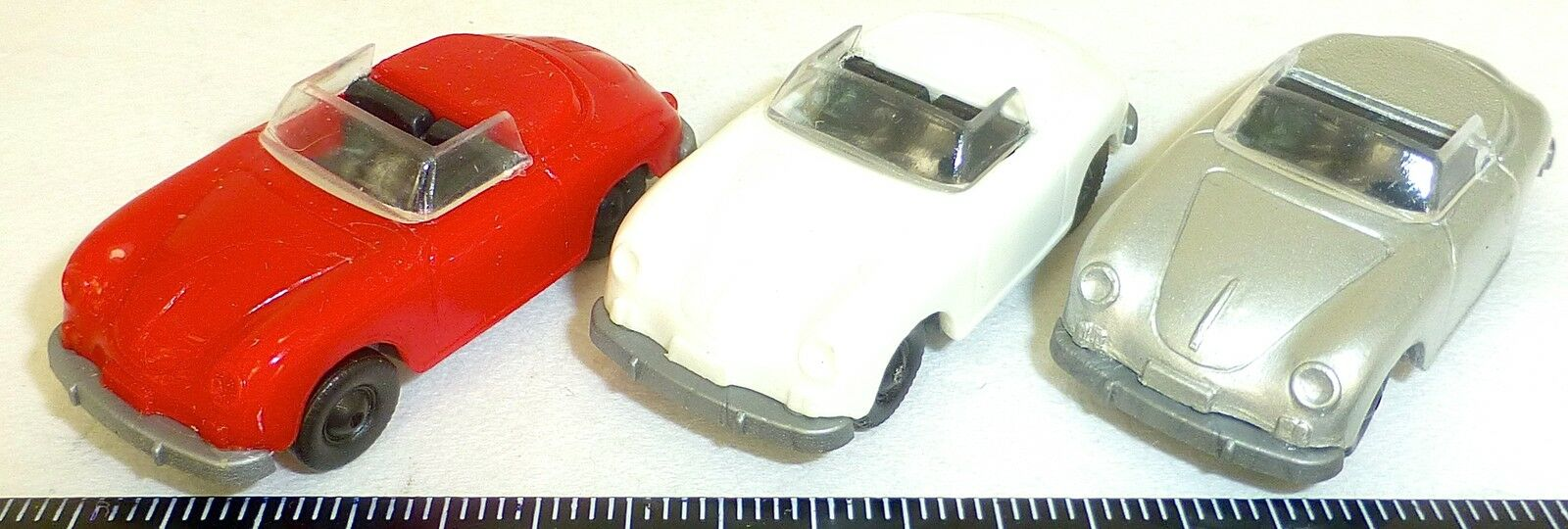 3x Porsche 356 Cabrio 1x Rojo 1x 1x 1x PLATA 1x Beige IMU EUROMODELL 1 87 H0 9be22c