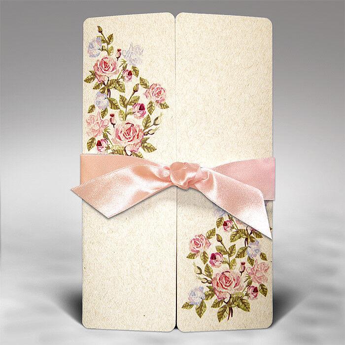 Einladungskarten Hochzeit F1290 mit Umschlag  Hochzeitskarte    Schenken Sie Ihrem Kind eine glückliche Kindheit    König der Quantität    Deutschland Shops