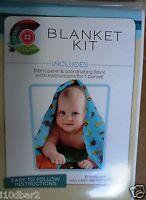 Daisy Kingdom Fabric Blanket Kit Safari Tot Quilt Top & Coordinating Fabric