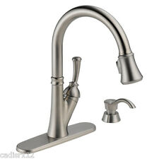 "Delta ""Savile"" 19949-SSSD-DST Stainless Steel Pull Down Spray Kitchen Faucet"
