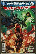 JUSTICE LEAGUE #2 (2016 Rebirth) --- FIRST Printing - DC US - Bagged Boarded