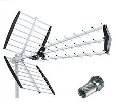 ANTENNE TERRESTRE 67 Element UHF HD DVB-T Digital  TV aussen  Dachantenne
