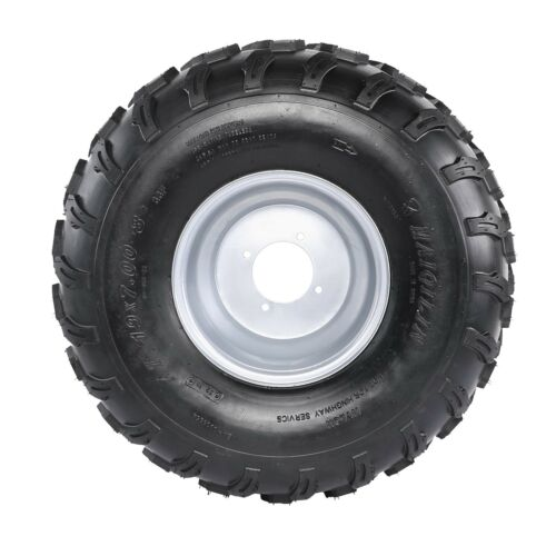 """Pair 19x7-8 19-7-8 8/"""" Tire Assembly Rim ATV GO KART QUAD UTV 150CC 200CC Taotao"""