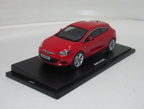 Coche modelo Opel Astra J GTC 1:43 Power rojo 10128
