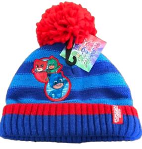 PJ Masks Hat Stripe Knitted Winter Thermal Hat Boys Kids Children 2 to 6 Years