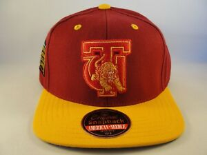 38e87885243 Image is loading Tuskegee-Golden-Tigers-AACA-Snapback-Hat-Cap-American-